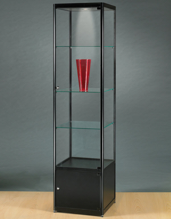 Moderne Vitrine / Glas / Holz / Aluminium - MPC 500 WITH ...