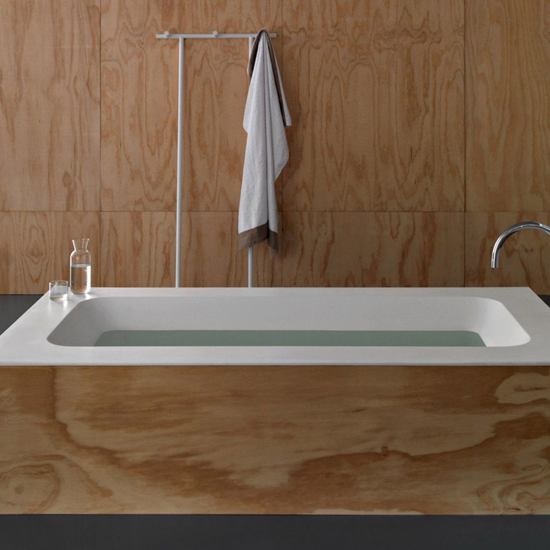 Gut gemocht Freistehende Badewanne / Holz / aus Acryl - ORIGAMI - F.lli Stocco VC16