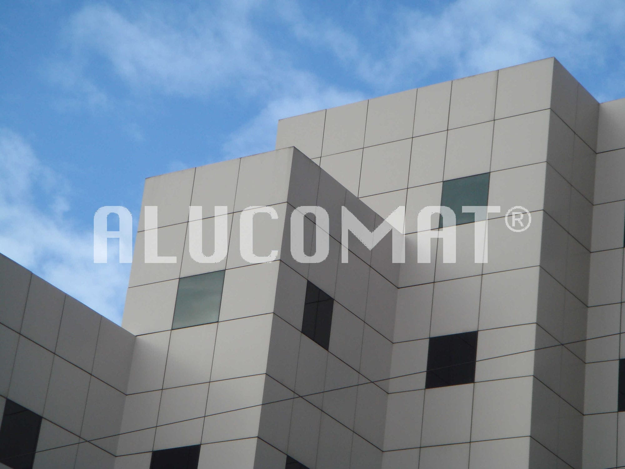 Platten Fassadenverkleidung Alucomat Terracotta Alucomat