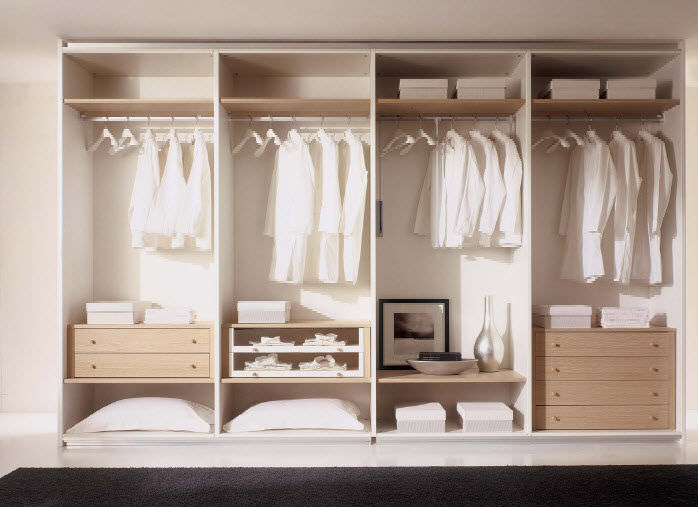 Moderner begehbarer Kleiderschrank / Holz - WHY SYSTEM : 50 ...