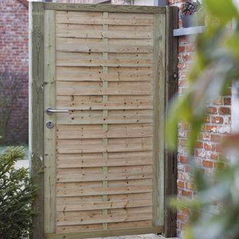 Holz-Gartentor - CLASSIC - Collstrop Garden
