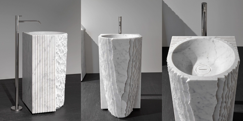 Freistehendes Waschbecken / Marmor / modern - CONTROVERSO ...