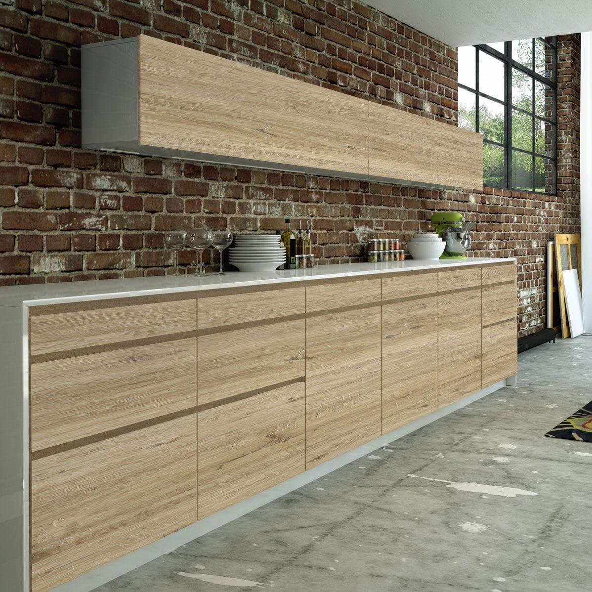 Gut bekannt Holzpaneel / HPL / Melamin / für Möbel - VINTAGE - SM'art HO55