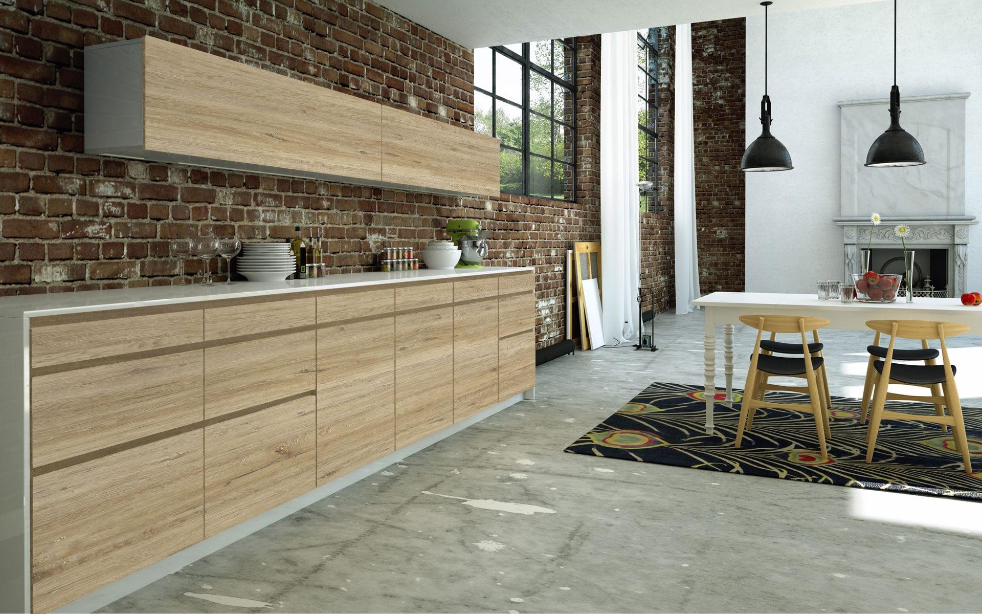 Fabulous Holzpaneel / HPL / Melamin / für Möbel - VINTAGE - SM'art KI12