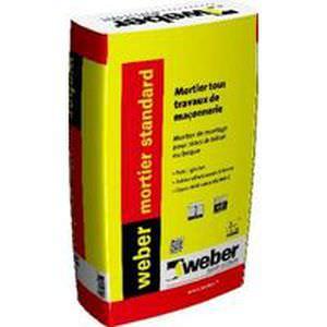 Weber mauermörtel