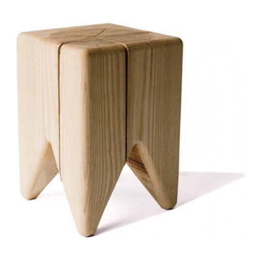 Moderner Hocker Stump Kalon Studio Holz Fur Kinder Unisex