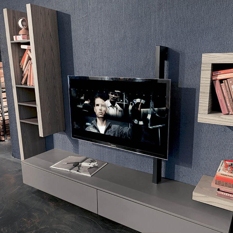 Moderne Tv Wandhalterung Schwenkbar Metall Flag Fimar Srl