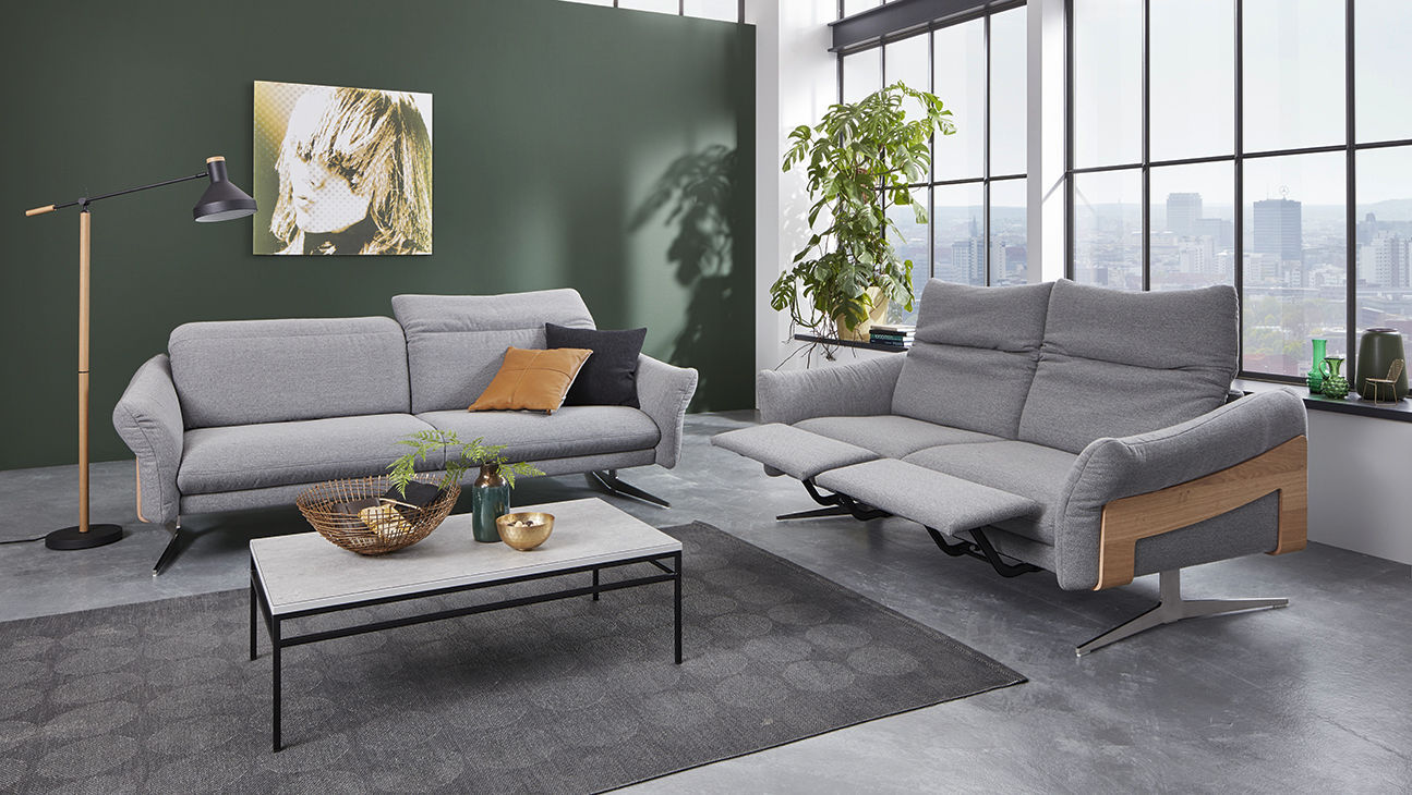 Modernes Sofa / Stoff / Holz / Metall - PROMOTION : 1809 ...
