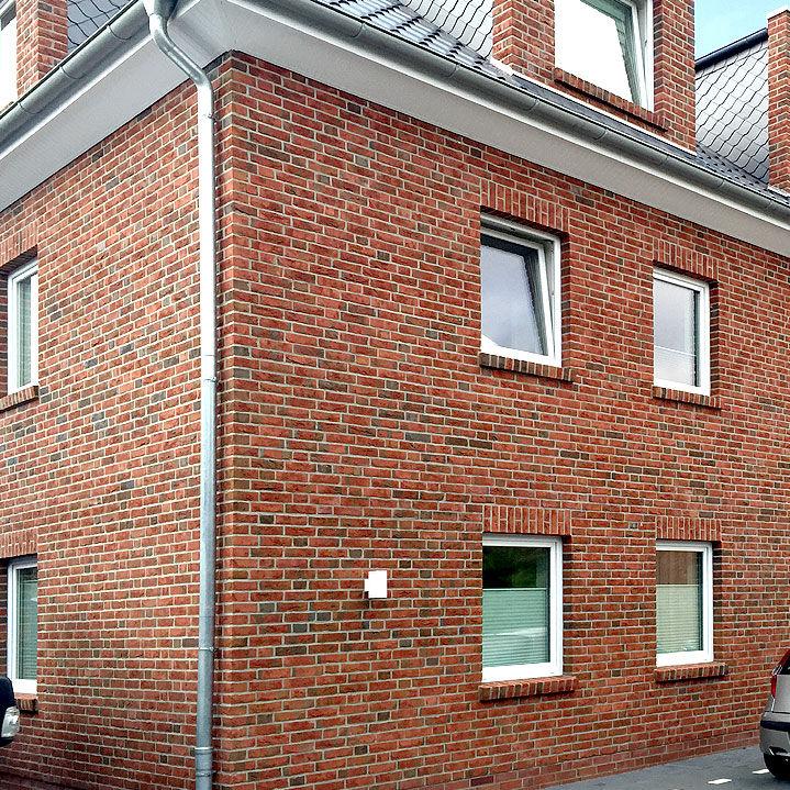 Massivziegel Isolierend Fur Fassaden Rot