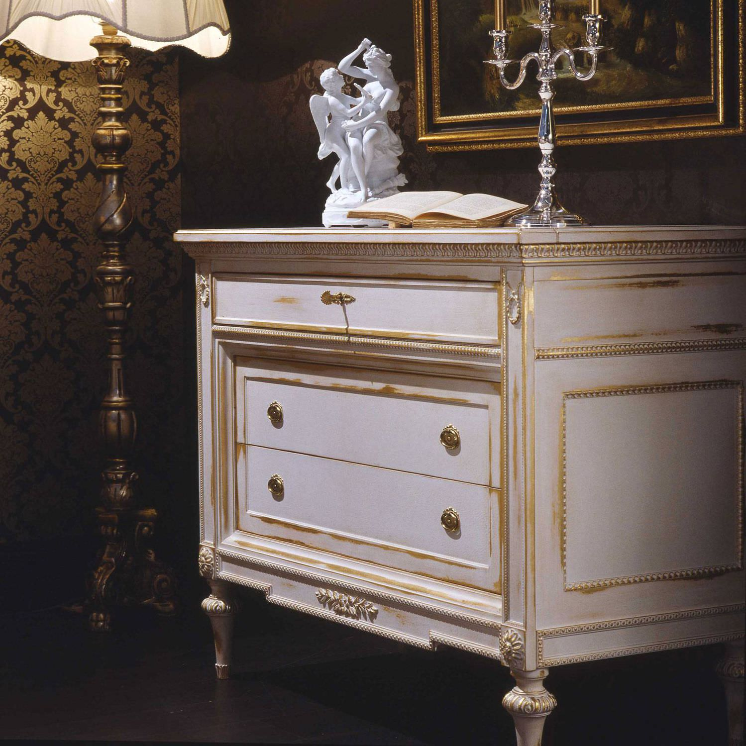 Kommode Louis Xvi Stil Weiss White And Gold