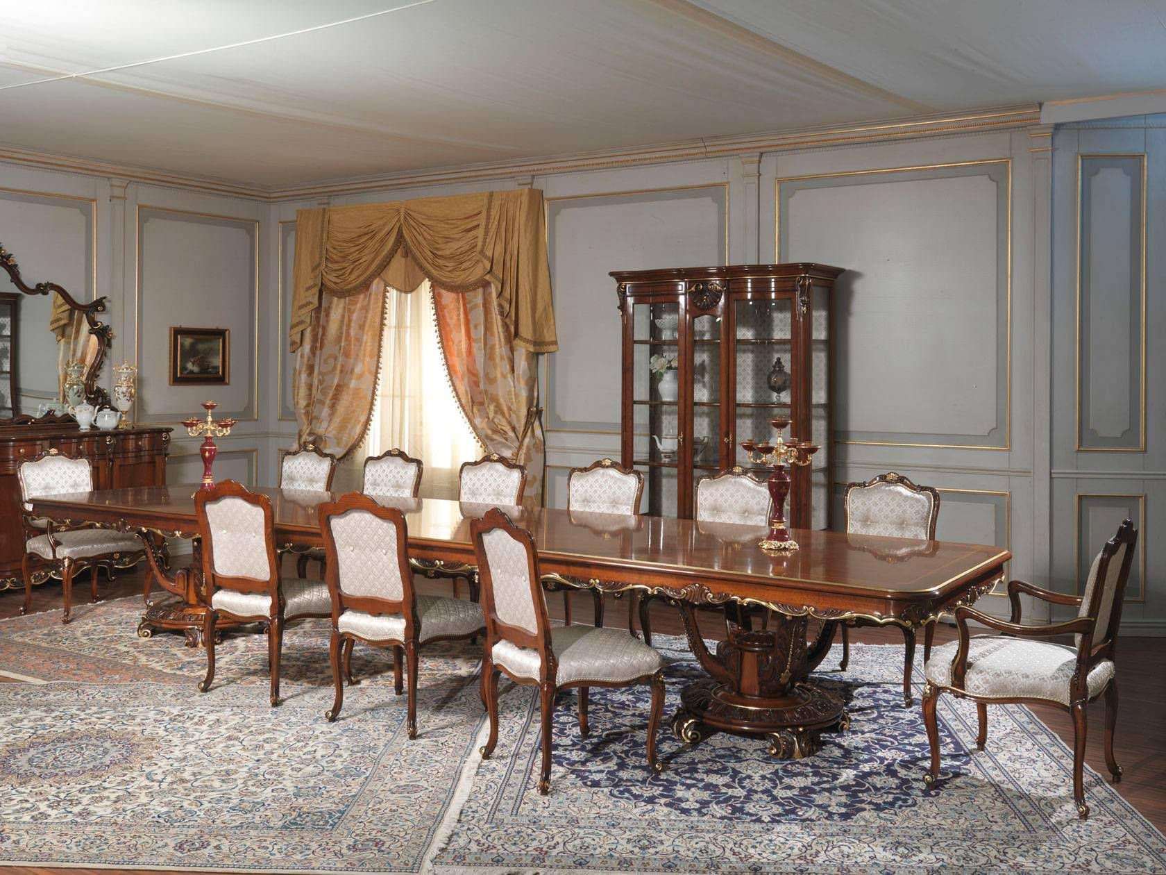Tisch Louis Xv Stil Louis Xv Vimercati Meda Luxury Classic Furniture Holz Rechteckig