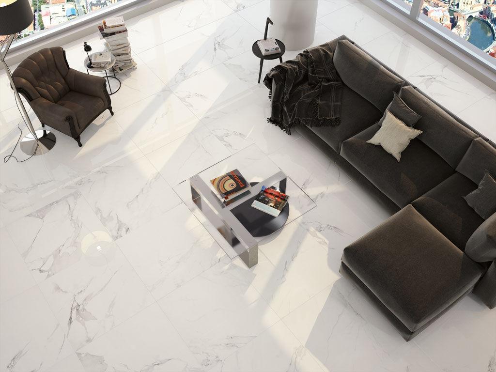 Wohnzimmer-Fliesen - MAGNUM - APE - bodenstehend / Feinsteinzeug