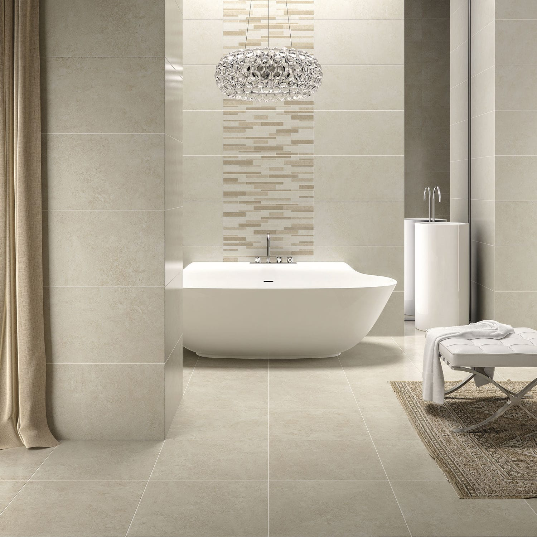 Badezimmer-Fliesen / Wand / Boden / Keramik - LEGEND - DOMINO