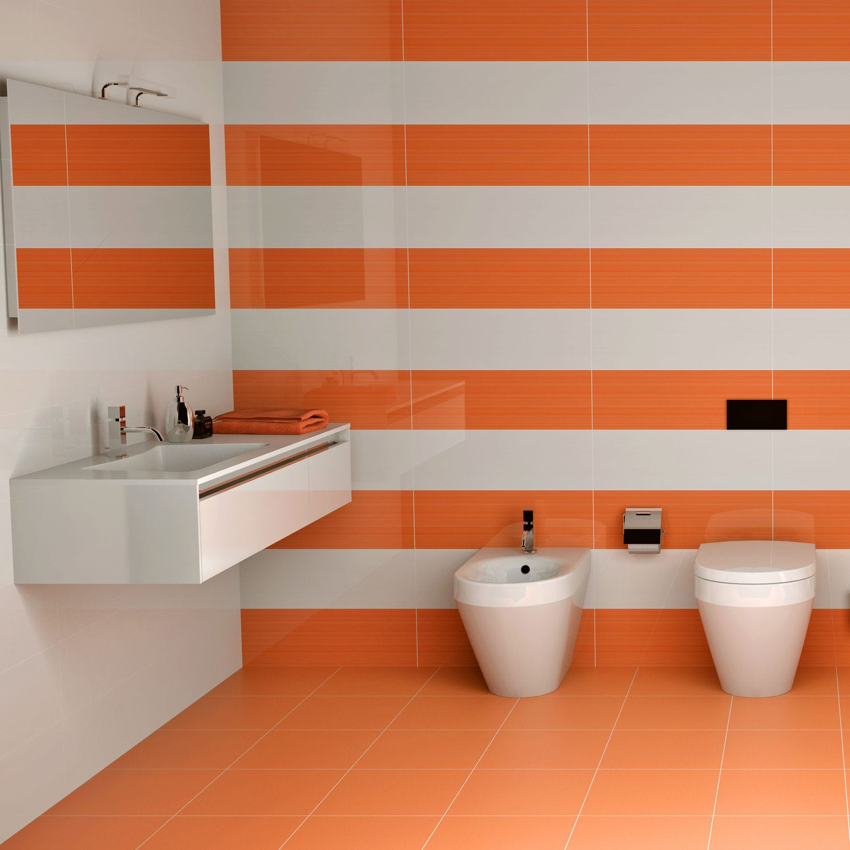 Badezimmer-Fliesen / Wand / für Böden / Keramik - SWEET - DOMINO