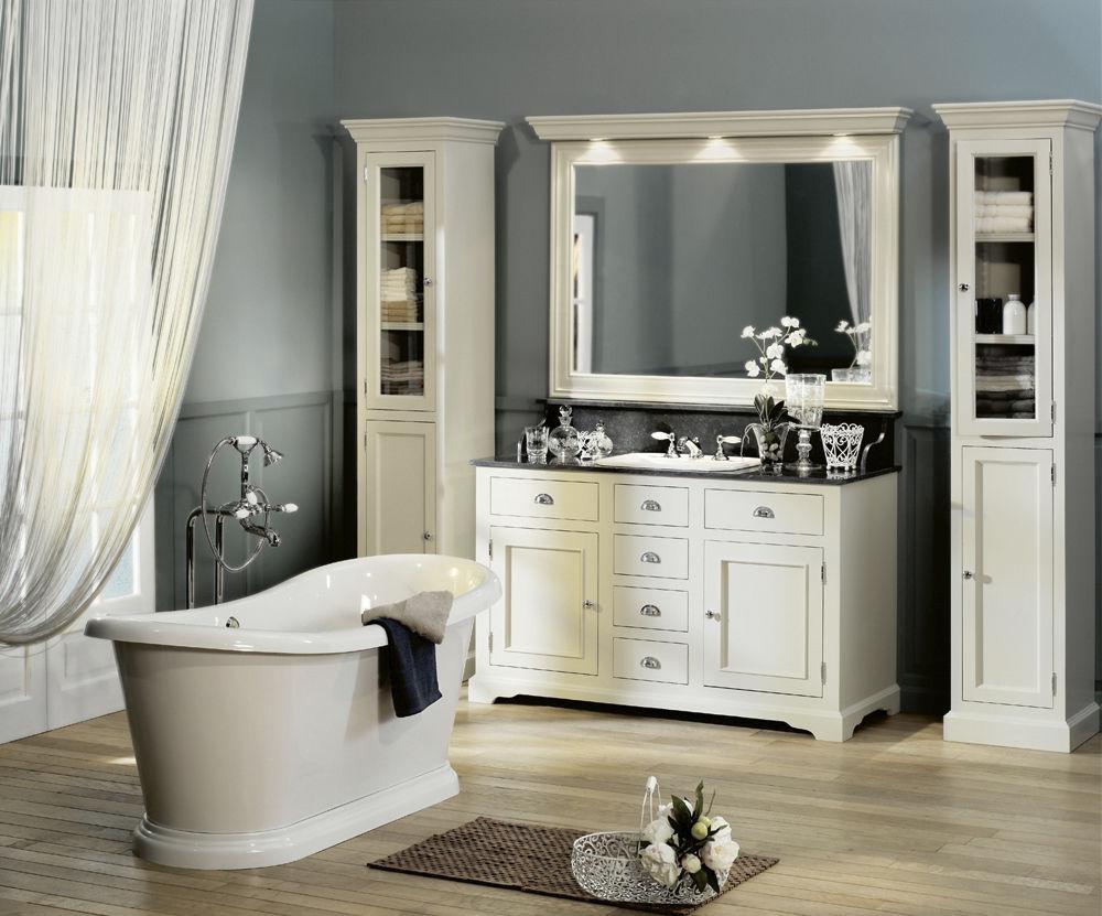 Klassisches Badezimmer / Holz - ENSEMBLE CARLTON.01 - Aqua ...
