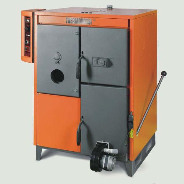 Prächtig Gas-Heizkessel / Holz / Heizöl / Multibrennstoff - TERNA S 27 #OS_37