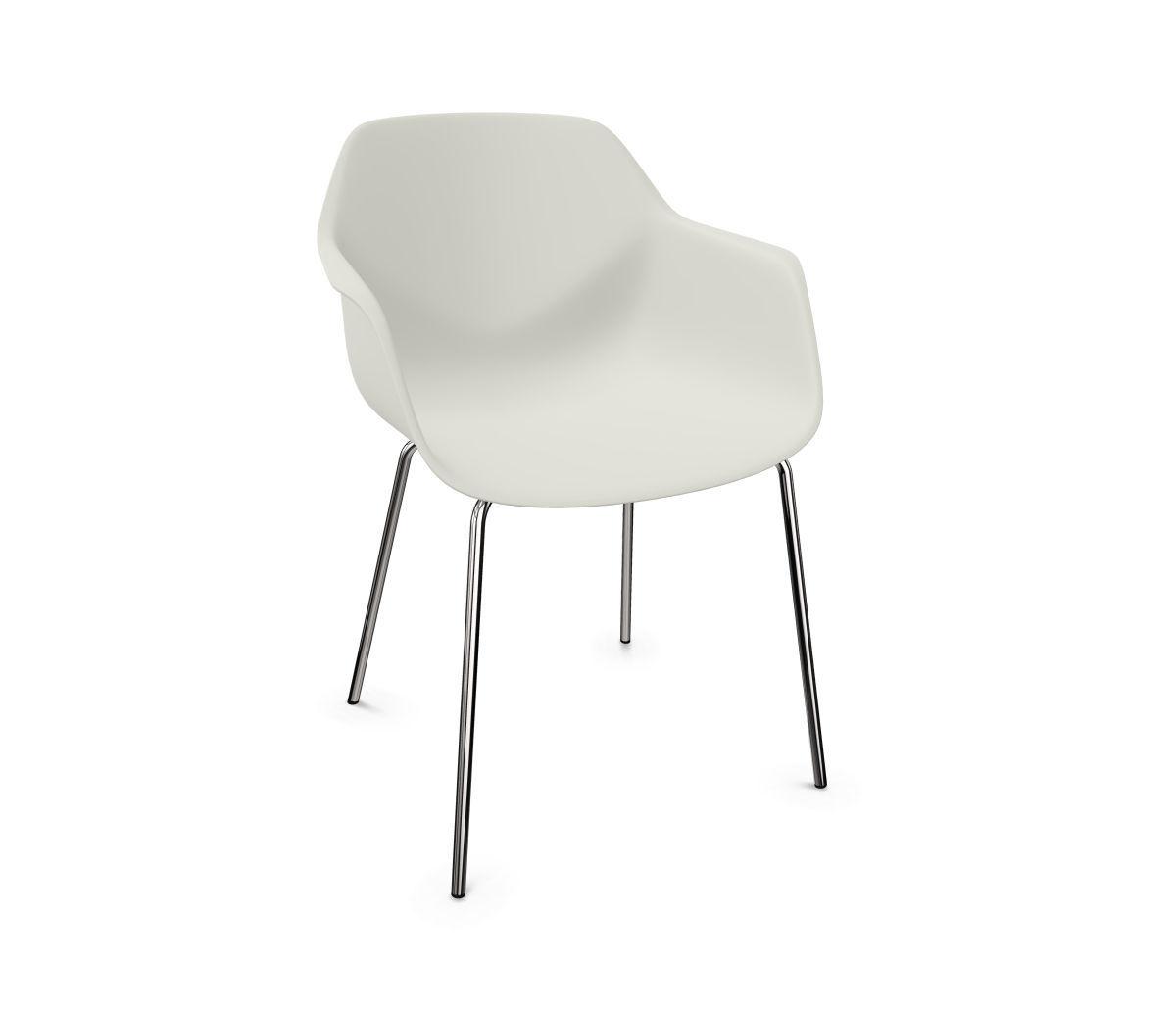Moderner Stuhl Polster mit Armlehnen Holz FOURME®44