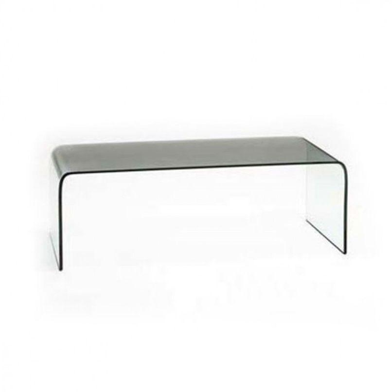 Moderner Couchtisch / Glas / rechteckig / Innenraum ...