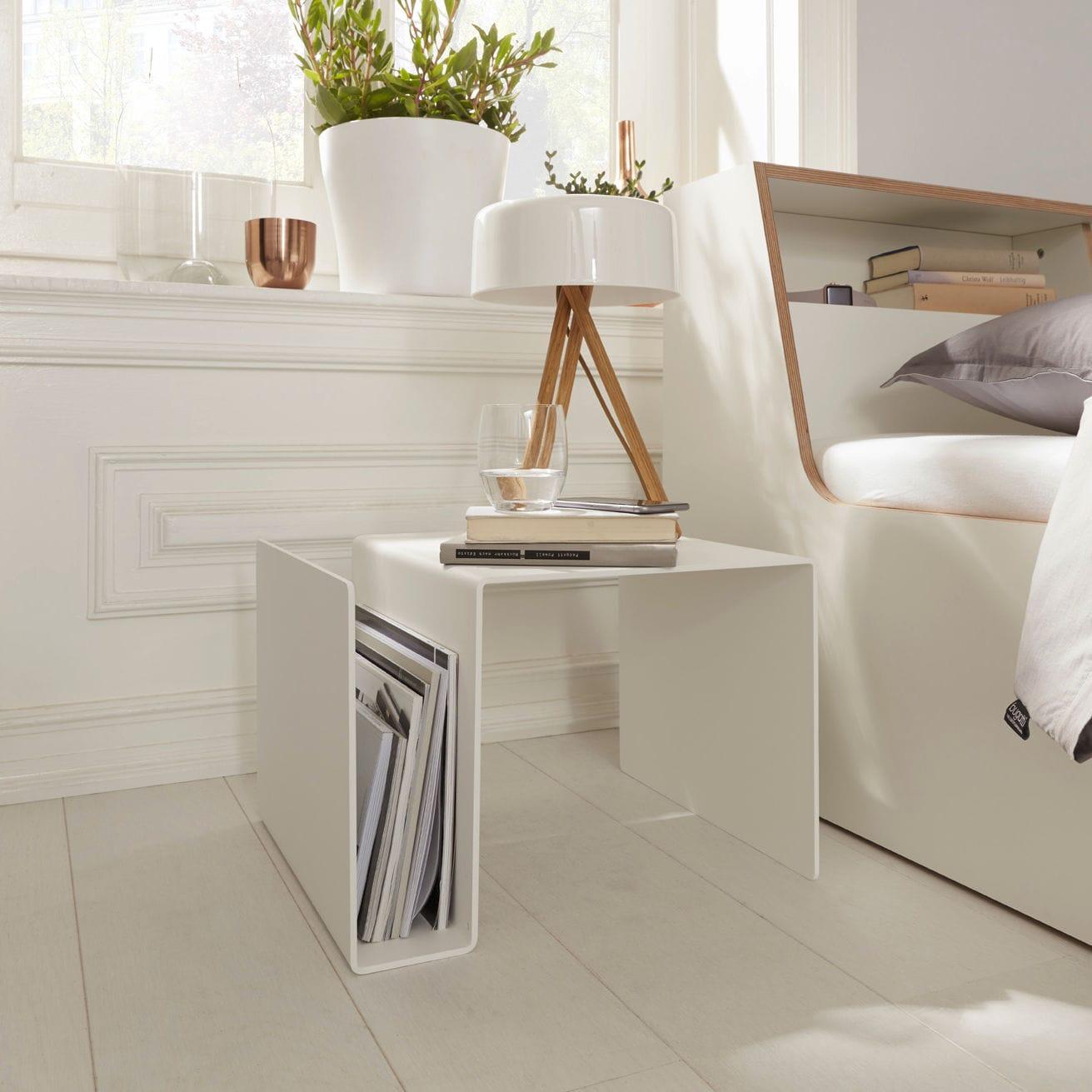 Super Nachttisch / originelles Design / aus Birke / aus Sperrholz EX32