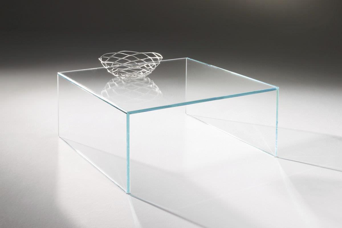 Moderner Couchtisch Glas Rechteckig Quadratisch Arcadia