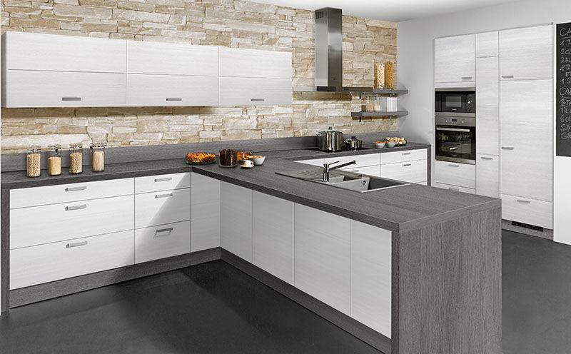 Moderne Küche / Holz / Kochinsel / lackiert - PLAN - Express ...