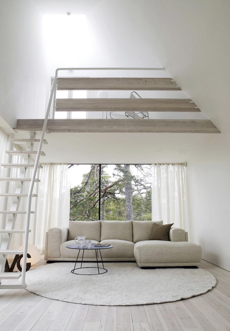 Modernes Sofa / Leder / Stoff / 3 Plätze - SHABBY CHIC ...