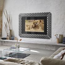 Wandmontierter TV-Spiegel / modern / rechteckig / Objektmöbel
