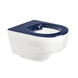 hängendes WC / Kunststoff / für Öffentliche Sanitäreinrichtungen