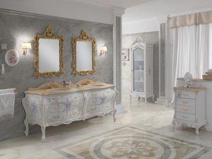 Barock-Badezimmer / Massivholz