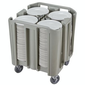 Objektmöbel-Wagen / für Restaurants / Geschirr / Polyethylen
