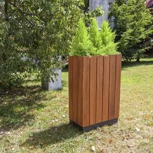 Holz-Pflanzkübel