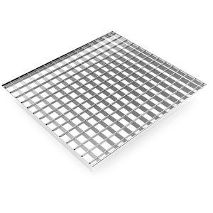 Stahl-Gitterrost / Aluminium / Edelstahl / für Gitter für Industrieböden