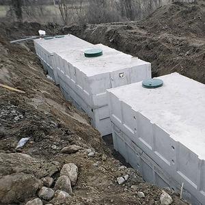 Fertigbau-Sammelgrube / Beton