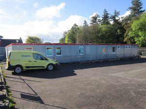 Containeranlage für öffentliche Gebäude