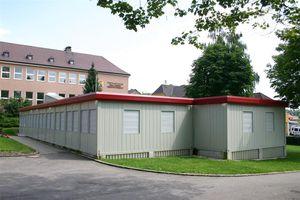 Containeranlage für Geschäftsgebäude