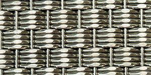 Gewobenes Metall / Edelstahl