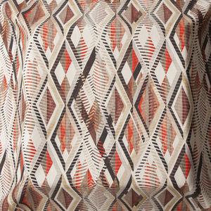 Möbelstoff / Gardinen / mit geometrischem Muster / mehrfarbig