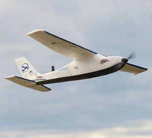Drohne mit elektrischem Antrieb