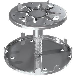 Doppelboden-Stelzlager / verzinkter Stahl