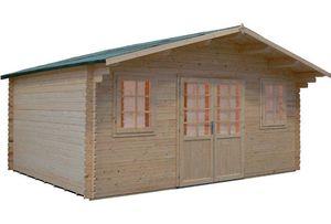 Garten-Blockhaus / Holz