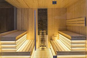 finnische Sauna / für Privatgebrauch / Holz / Innenraum