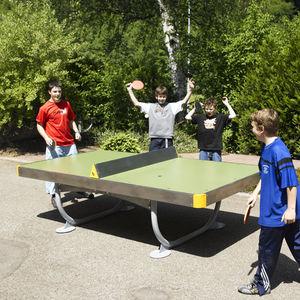 Tischtennisplatte für öffentliche Bereiche / für Spielplätze