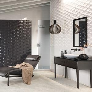 Badezimmer-Fliesen / Wand / Keramik / 35x100 cm