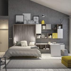 Schrankbett / Doppelbett / modern / für Kinder (Unisex)