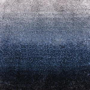 moderner Teppich / uni / Viskose / quadratisch