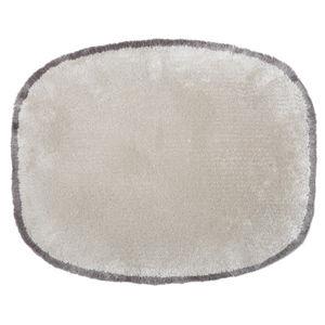 Stil-Teppich / uni / Geometrische Motive / Wolle