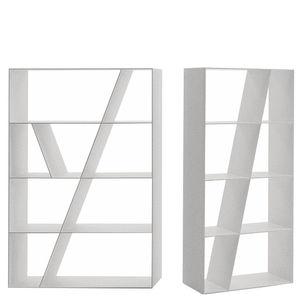 minimalistische Bibliothek / aus Corian®
