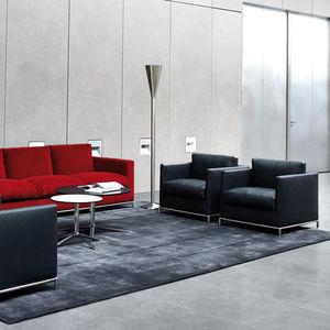 moderner Sessel / Stoff / Leder / von Antonio Citterio