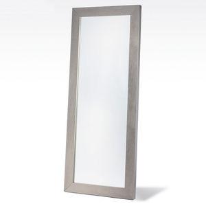 Standspiegel / modern / rechteckig / aus Eiche