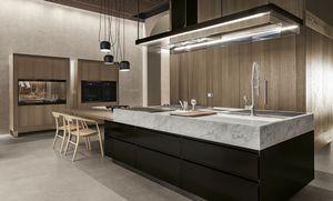 Marmor-Küche